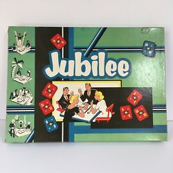 Vintage 1955 Cadaco Ellis Strategy Game Jubilee Nice Condition Complete