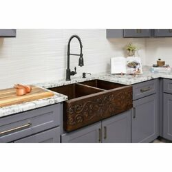 Premier Copper Products Ksp3_ka60db33229s Kitchen Sink And Multi