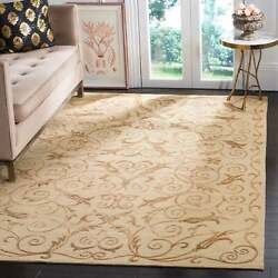 Safavieh Couture Hand-knotted Tibetan Glynys Modern Wool Rug