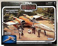 Star Wars Vintage Collection Rise Of Skywalker Poe Dameron's X-wing Fighter Toys