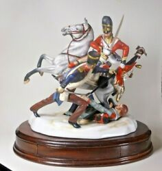 Michael Sutty Military Figure Group The Battle Of Waterloo C.1815