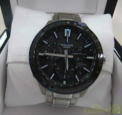 Casio Menand039s Watches Radio Wave Solar Ocw-g1200 021a315f Secondhand