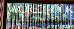2007 World Book Encyclopedia Complete 22 Volume Set Library Bound