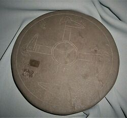 Authentic Museum Piece Mississippian-transitional Inscribed Palette