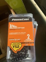 Lot Of 5 Power Care 461-620 Chainsaw Chain 2-pack N