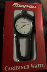 Snap-on Die-cast Carabiner And Watch Housing Anodized Finish Quartz Led Light New