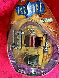 New Rare Farscape Rygel Royalty In Exile Toy Vault Series 2 Action Figure Nib