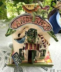 Blue Sky - Clayworks By Heather Goldminc - Candy Corner Shop Candle House