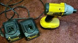 Dewalt 18v Battery Drill And Chagers