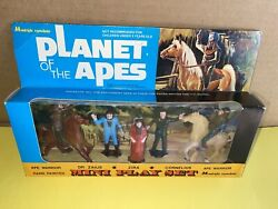 Planet Of The Apes Mini Playset M Multiple Toymakers Vintage 1970's Mint Sealed