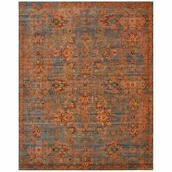 Nourison Timeless Tml08 Area Rug Orange/blue 9and0399 X 13and039