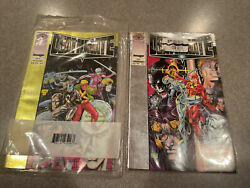 Valiant Deathmate Unopened Oct Yellow 1993 + Opened Prologue Silver