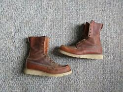 Irish Setter Vintage Red Wing Crepe Sole 9.5 B Hunting Usa Made 11091 Boots Work