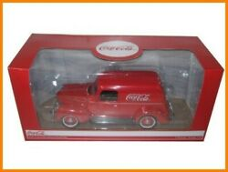 Made By Moter City Classics Cocacola Diecast Minicar Delivery Panel Van 1940 1
