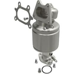 Catalytic Converter With Integrated Exhaust Manifold For 2005 Honda Accord 3.0l