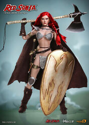 1/6 Phicen Tbleague Red Sonja Pl2015-86 Discontinued Sealed Complete Rare