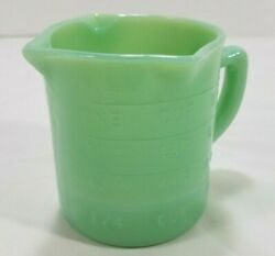 Jadeite Jadite 1 Cup Measure Measuring Cup 3 Spout 1/4 And 1/3 Marks A+ Condition