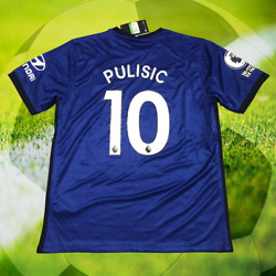 Chelsea Christian Pulisic 10 Home Jersey 2020-2021 Menand039s Football Soccer Shirt