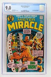 Mister Miracle 4 - Dc 1971 Cgc 9.0 1st Appearance Of Big Barda