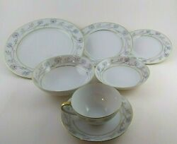 Vintage Mikasa Fine China Dishes Judith' Pattern 8 Place Servings