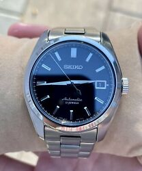 Used Rare Seiko Sarb033 Automatic Black Discontinued Menand039s Watch 6r15 Japan