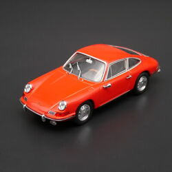 New Collectible 1/43 Scale Porsche 911 Coupe Car 1964 Red Color Metal Model