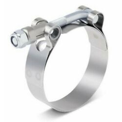 Motorcycle 3 Band Exhaust Pipe Clamp Calipers Stainless Steel Universal Part Uk