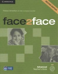 Face2face Advanced Teacherand039s Book Paperback By Clementson Theresa Cunningh...
