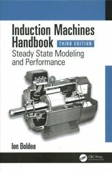 Induction Machines Handbook Hardcover By Boldea Ion Like New Used Free Sh...