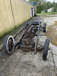 1929 Buick 116 Series Coupe Chassis With Title Speedster Hot Rod Vintage Racing