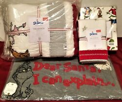 Pottery Barn Kids Christmas Twin Quilt Sham Sheets Pillow Cover+