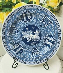Spode The Blue Room Collection Horse Roman Greek Dinner Plate Made In England