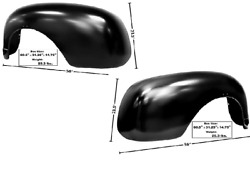 Chevy Pickup Truck 1st Series Stepside Rear Fender Set Left And Right 1947-1955