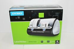Dymo Labelwriter 450 Twin Turbo Label Thermal Printer With Power Cord, Usb Cord