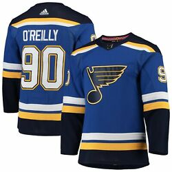Ryan Oand039reilly St. Louis Blues Adidas Home Authentic Player Jersey - Blue