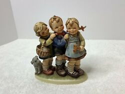 Large 7 Inch - Follow The Leader Hummel Goebel 369 Dated 1964andnbsp
