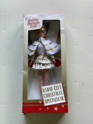 Vintage 2006 Msg Radio City Christmas Spectacular Rockette Doll In Box