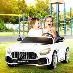 2 Colors Kids Ride On Car 12v Child Toy Electric Remote Control Led Mp3 2 Seats