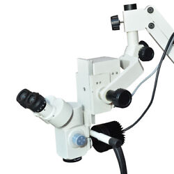 5 Step-dental Wall Fitting Microscope/manual Focus/with Ccd Cameraled Monitor