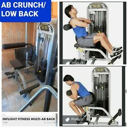 Inflight Ab Crunch/low Back Extension Combo
