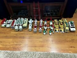Hess 15 Truck Lot Used 1993-2004 And 6 Miniatures 2000-2006