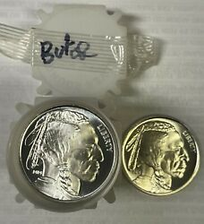 United States American Buffalo 1 Oz .999 Silver Rounds, 20 Coin Roll, 20 Oz