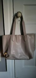 Coach Tote Leather. Only Used Once. Too Big For My Liking. Beautiful Color.