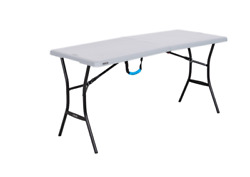Lifetime 5ft Folding Tailgating Camping And Outdoor Table