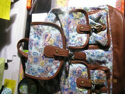 Mossimo flowered backpack purse $15.00