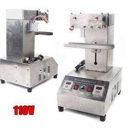 For Toothpaste/ointment Electric Heating Pneumatic Plastic Tube Sealing Machine