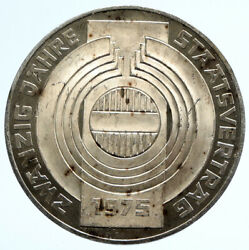 1975 Austria Sower Field Imperial Eagle Proof Silver 100 Schilling Coin I96583