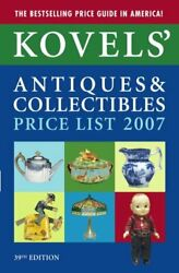 Kovelsand039 Antiques And Collectibles Price List 2007 Kovelsand039 Antiques And Collectibl
