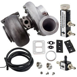 Gt45 Turbocharger T4 V-band 1.05 A/r 78trim 600+hp Boost+turbo Boost Controller
