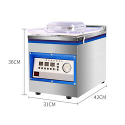 360w Vacuum Chamber Sealer Food Sealing Machine Commercial Packing Machine Used